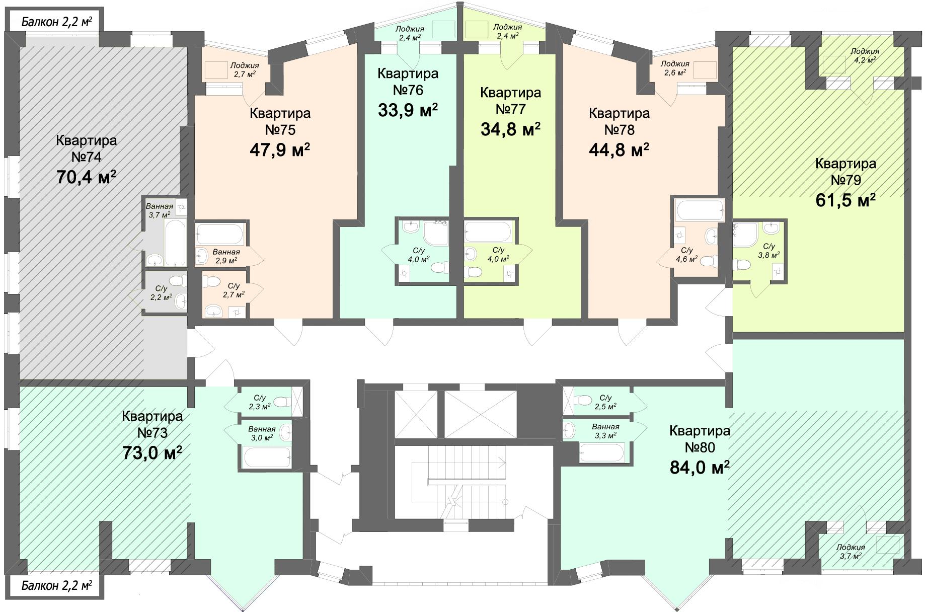 ДЛЯ УВЕЛИЧЕНИЯ НАЖМИТЕ НА СХЕМУ - Купить квартиру элитную от Застройщика в новостройке в Твери двухуровневую большую дорогую индивидуальную в стиле эко лофт пентхаус 3 х комнатную 4 х комнатную студию 1 комнатную 2 х комнатную повышенной комфортности с панорамными окнами с отделкой